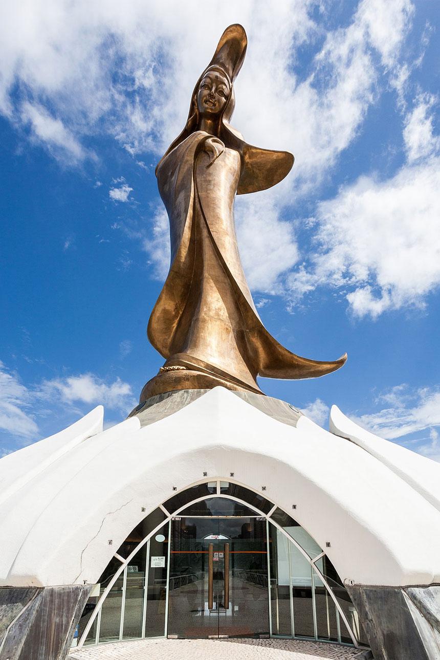 Escultura de la Diosa Guanyin